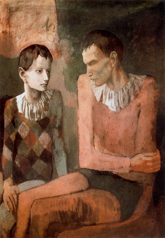 Picasso Rose Period For Kids Picasso 39 s Rose Period